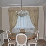 классические шторы на кухне как выбрать фото