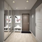 цветовая гамма в коридоре
