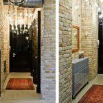 обои в узкий коридор фактурные фото