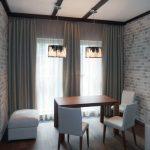 серые шторы в гостиную