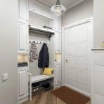 идеи как оформить нишу в коридоре фото