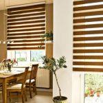 римские шторы день-ночь на кухню