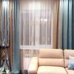 красивые шторы в гостиной фото