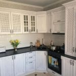 белая кухня современный дизайн