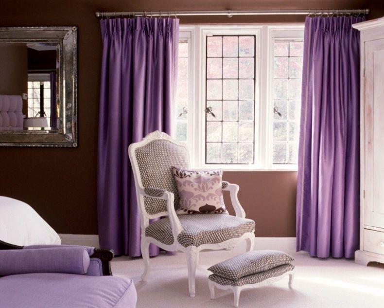 монохромные шторы в гостиной