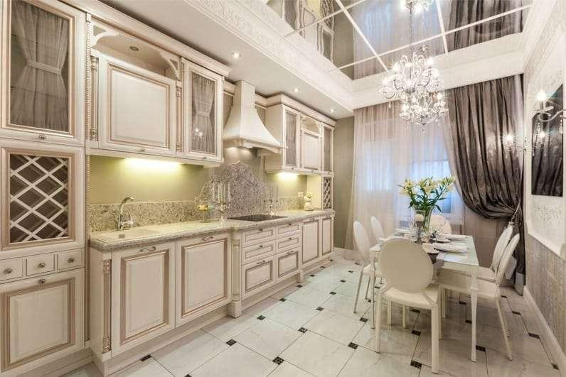 кухня в неоклассическом стиле фото