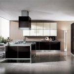 кухня стиль металл фото