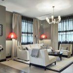 красивые шторы для интерьера гостиной
