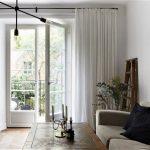 натуральные материалы для штор в гостиную фото