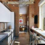 римские шторы кухня фото