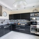 хай-тек кухня металл
