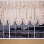 австрийские шторы на кухню фотог