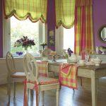 как выбрать английские шторы на кухню