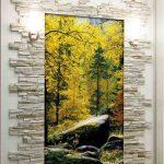 фотообои природа в узком коридоре
