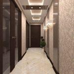 обои в узком коридоре фото