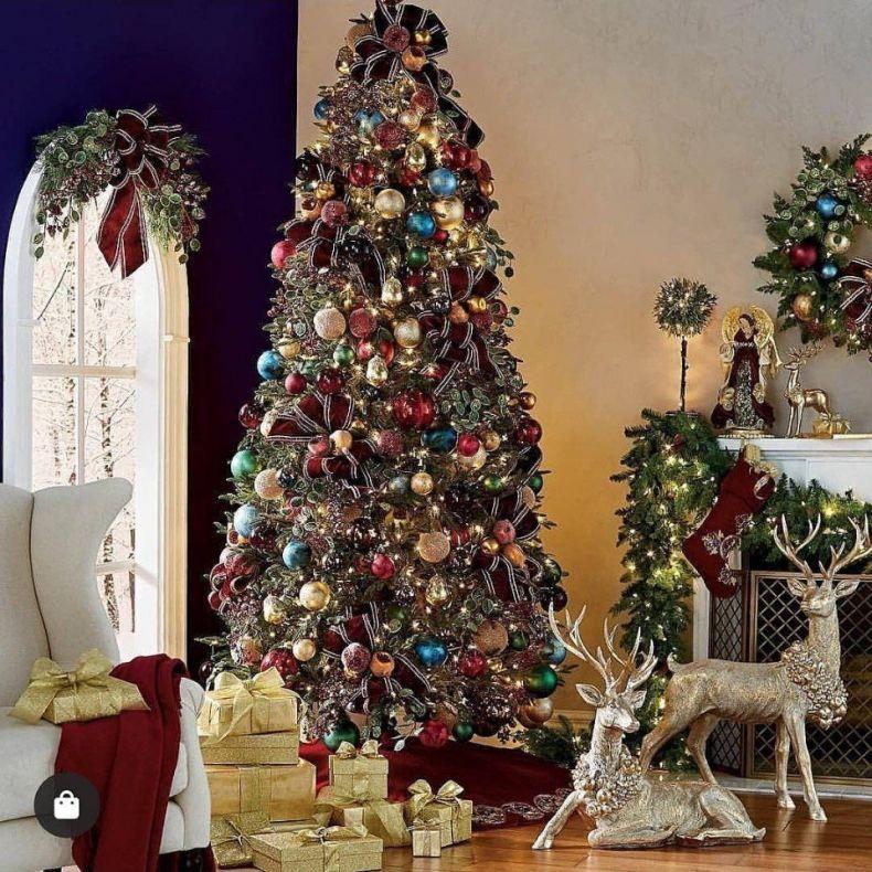 Как украсить комнату к новому году: украшение дома на Новый год