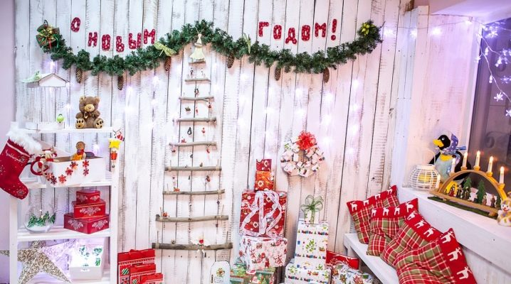 Новогодний декор своими руками: декорируем стену к новому году